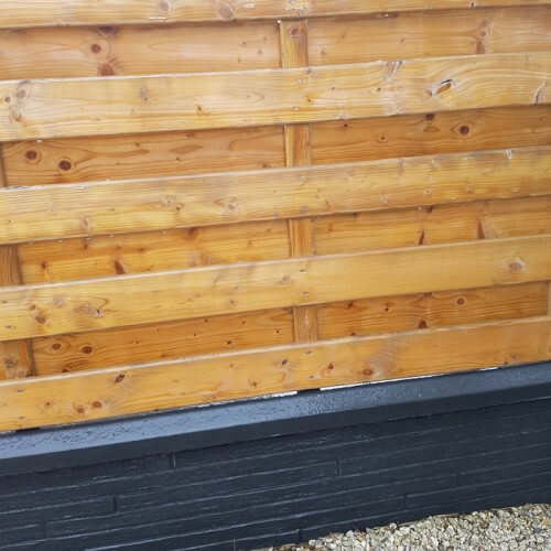 Domifence Beton-houtschuttingen 40cm